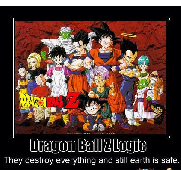 Safe earth-Worst Dragonball Z Logic