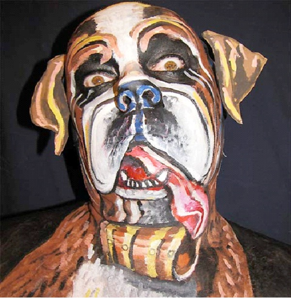 Doggie Dog-Most Incredible Face Paintings