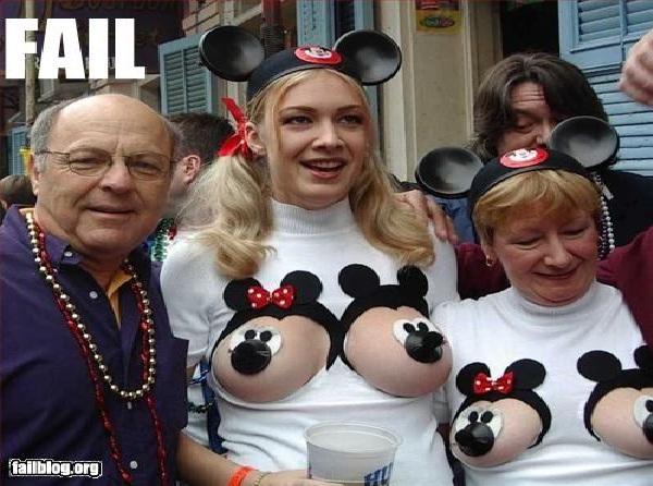 Bad Mickey-Disneyland Fails