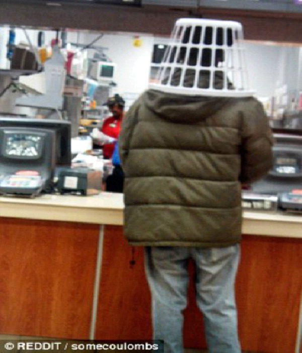 Basket Head-Strange People At McDonalds
