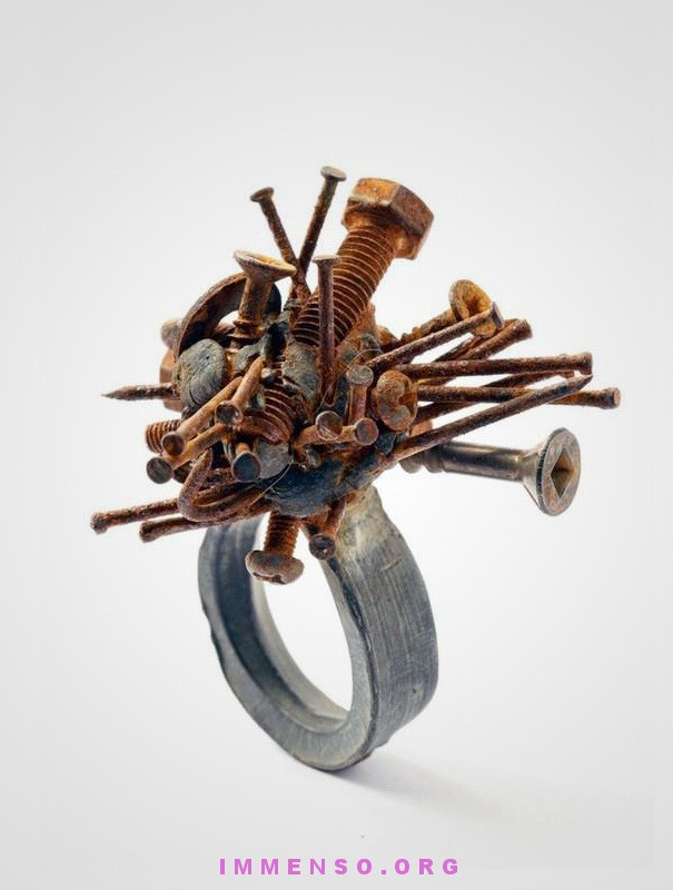 Screws?-Wackiest Rings To Wear