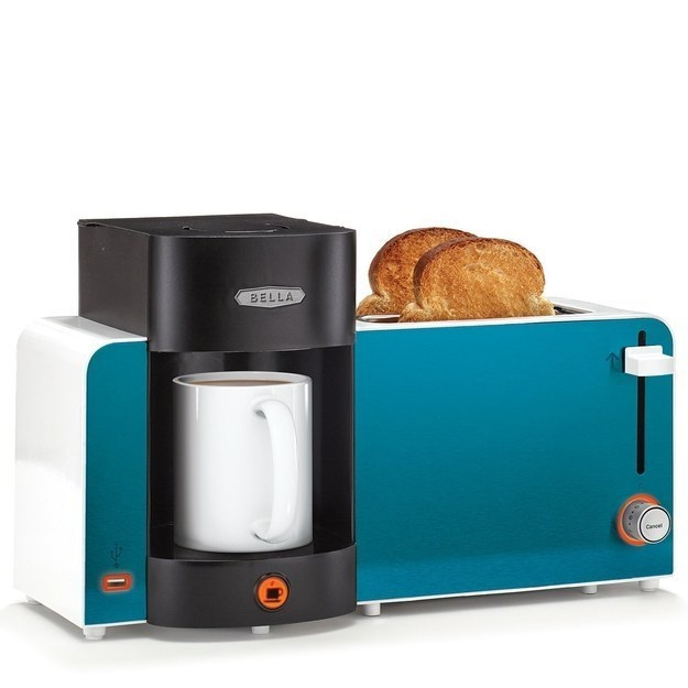 Coffee and toast-Inventions That Make Breakfast Fun