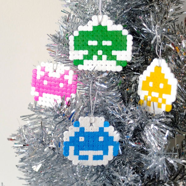 Space Invaders-Geeky Christmas Decorations