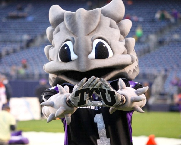 Texas Christian University - Super Frog The Horned Frog-Strangest College Mascots