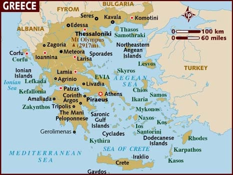 Greece-Countries With The Best Food