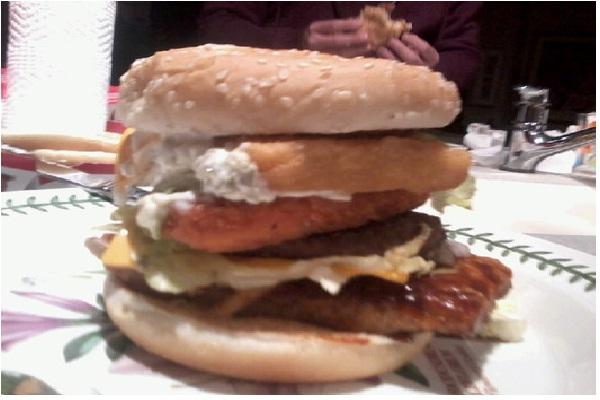 Land, sea & air-McDonald's Secret Menu Items You Didn't Know