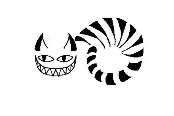 Cheshire Cat Tattoo Design-Cat Tattoos Designs