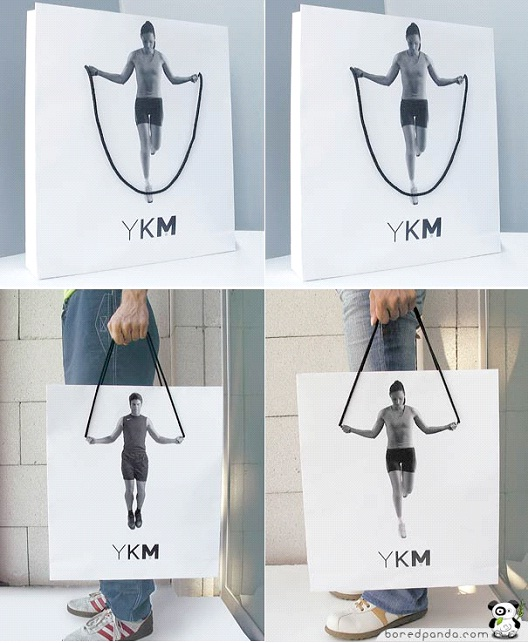 YKM-24 Most Creative Bag Ads