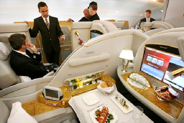 Emirates Airlines-Most Luxurious Airlines