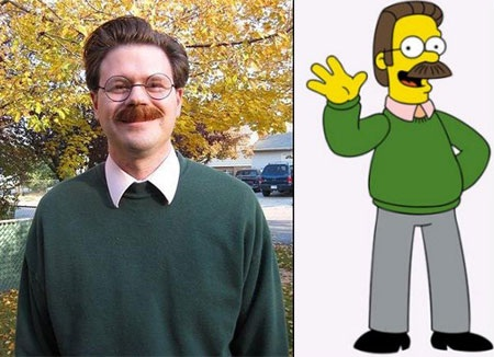 Which one is the cartoon?-Cartoon Characters & Their Real Life Counterparts
