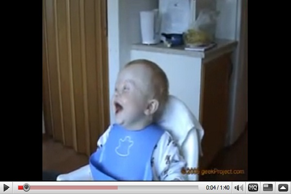 Laughing baby-Most Viral Videos Of All Time