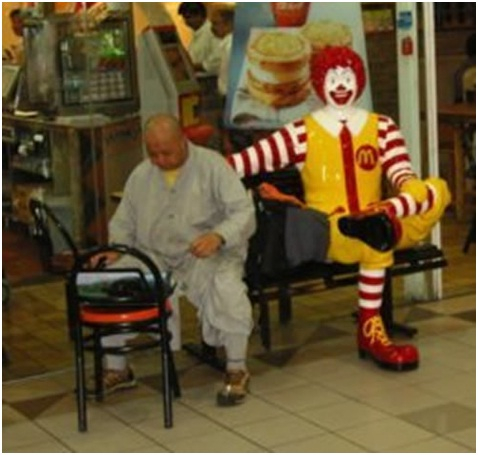 Helping the Elderly-Sad Reality Of Ronald McDonald