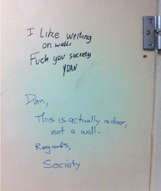 Society Is Always Right-12 Smart And Witty Replies To Written Notes
