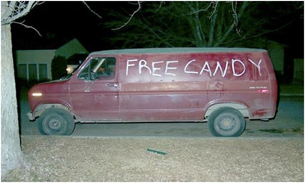 Free Candy Van-Funniest