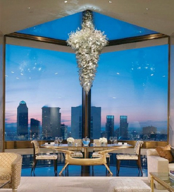Four Seasons Hotel -Ty Warner Penthouse Suite-New York City- $41,836 Per Night-World's Most Expensive Hotel Suites