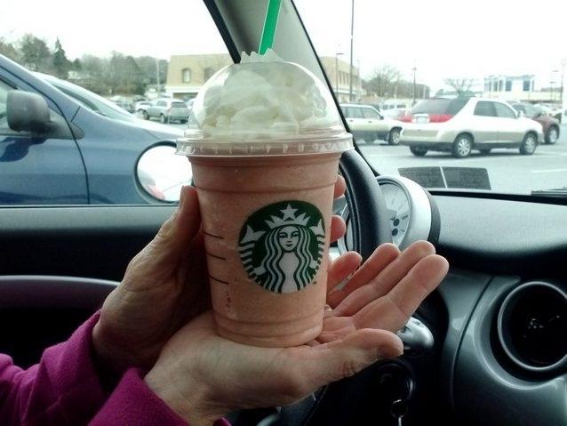 Raspberry cheesecake-Starbucks Secret Menu Items You Didn't Know