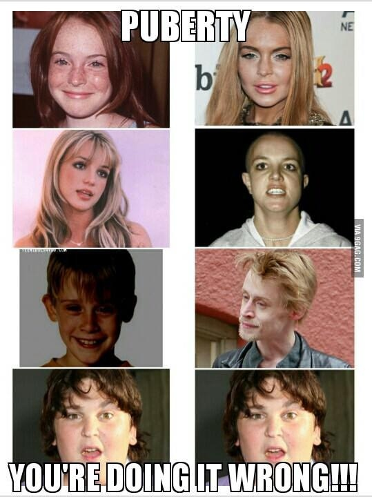 So much is wrong-12 Photos That Show Puberty Doing It Wrong