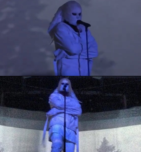 Kanye West-WTF Live Performance Pics