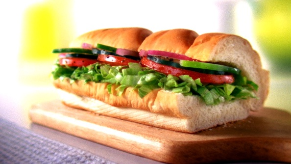 "Subway 6"" veggie delite-Healthy Fast Food Items You Can Opt For"