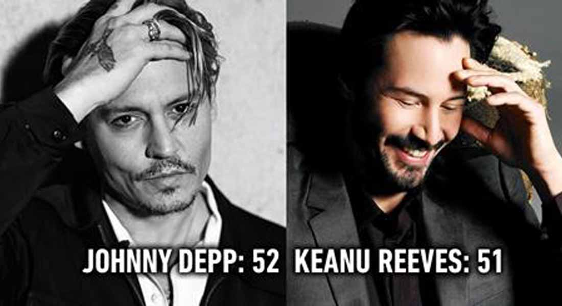 15 Celebrities Who Don't Age Like Other Human Beings