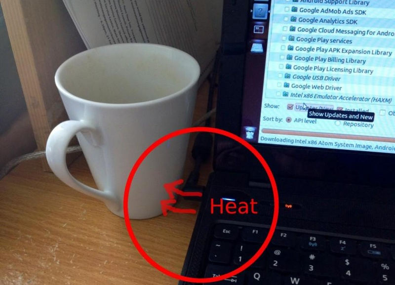 Use Your Laptop to Keep Your Coffee Warm-15 Lazy Hacks That Will Make Your Life Simpler