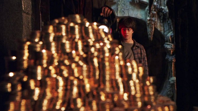 Harry Potter Gringotts' Coins-15 Things You Probably Don't Know About Harry Potter Movies