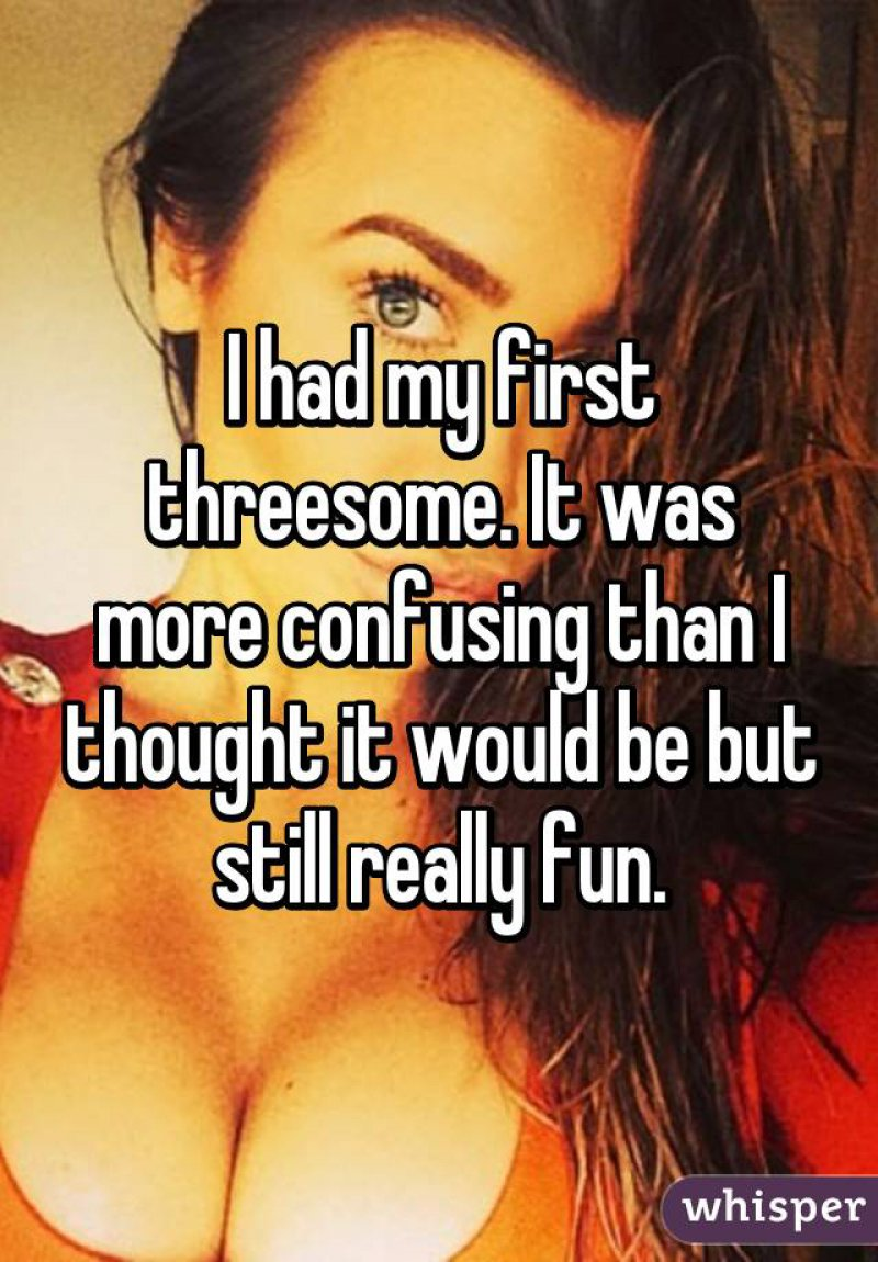 Someone Spoke the Truth, Finally!-15 People Confess Their First Threesome Experience