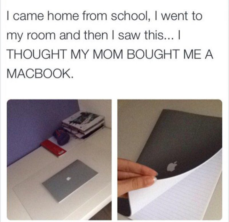 Literally a 'MacBook' -15 People Who Just Want To Watch The World Burn
