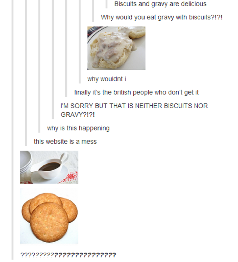 This Biscuit vs. Cookie Confusion-15 Times Americans Confused Everyone On Tumblr