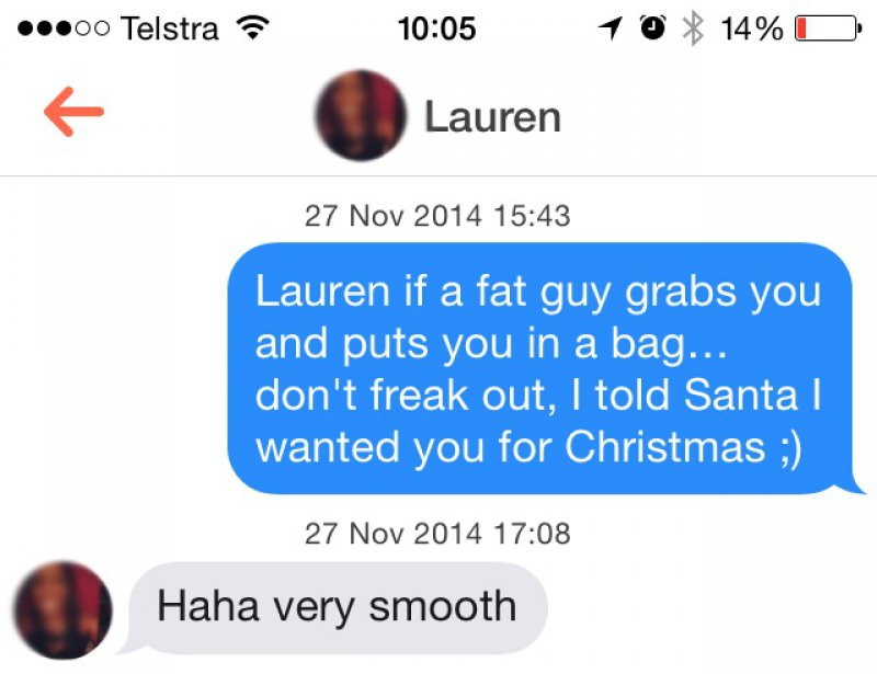 This Classy Talk-15 Funniest Pickup Lines To Use On Tinder
