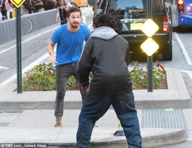 Shia LaBeouf Was Seen Chasing a Homeless Man-15 Trashy Things Celebs Have Done Drunk