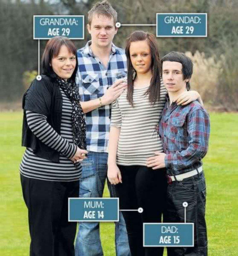 Jordan And Tia, England-9 Youngest Parents Ever