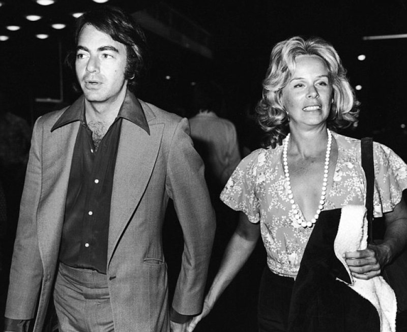 Neil Diamond And Marcia Murphey-12 Most Expensive Celebrity Divorces Ever