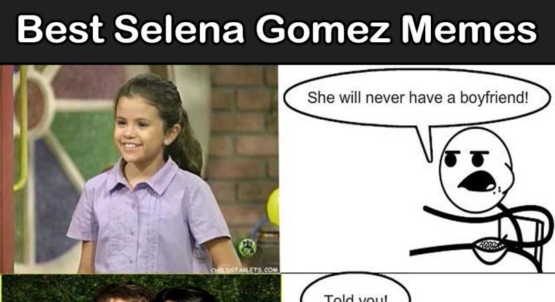 12 Best Selena Gomez Memes Ever