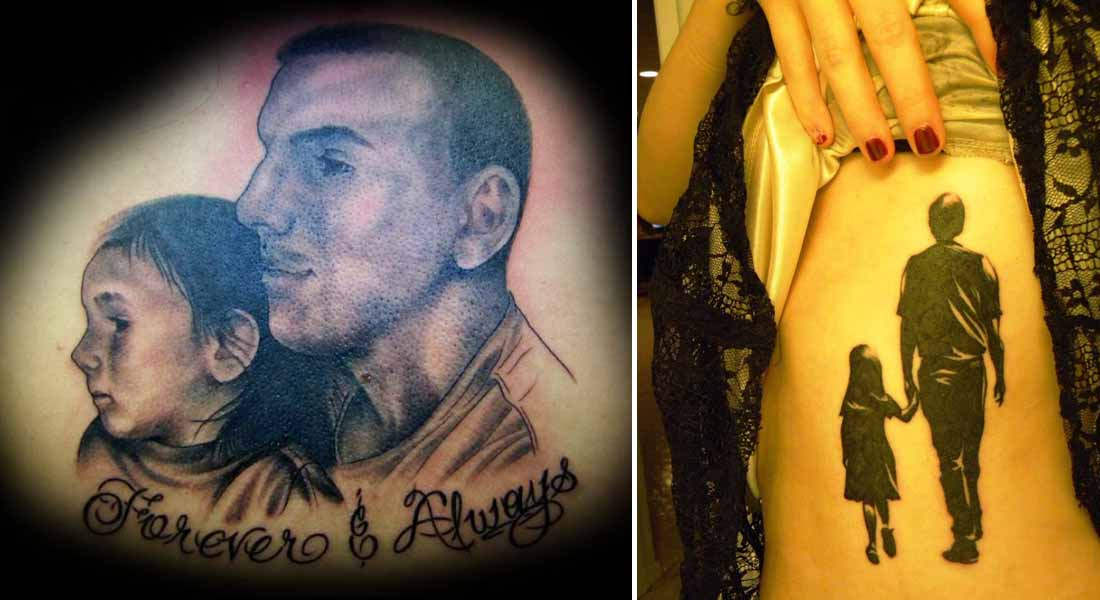 12 Best Father And Daughter Tattoos Ever