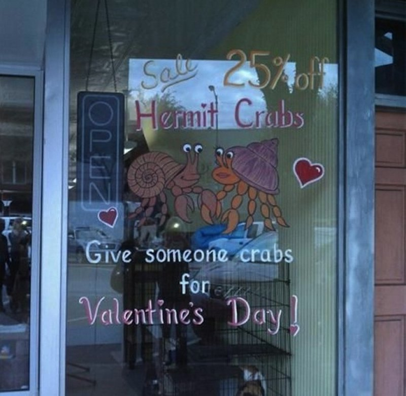 How About Crabs as Valentine's Day Gift?-15 Disgusting Valentine's Day Gifts Ever