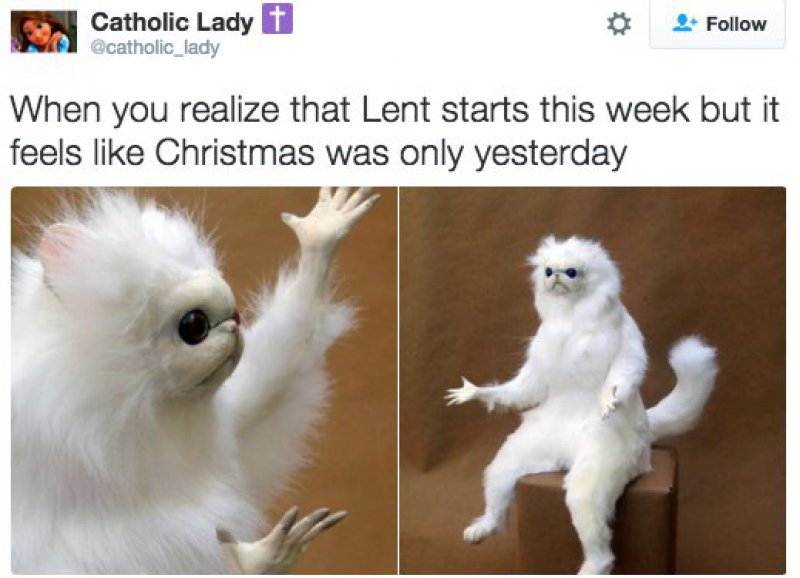 When Time Flies-15 Tweets Only Catholics Will Understand