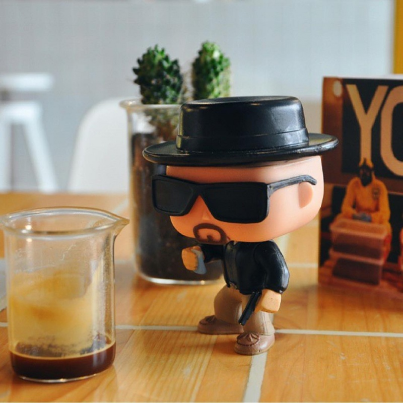 You Can Meet Toy Walter White-Breaking Bad Coffee Shop Is The Best Coffee Shop You Will Ever See