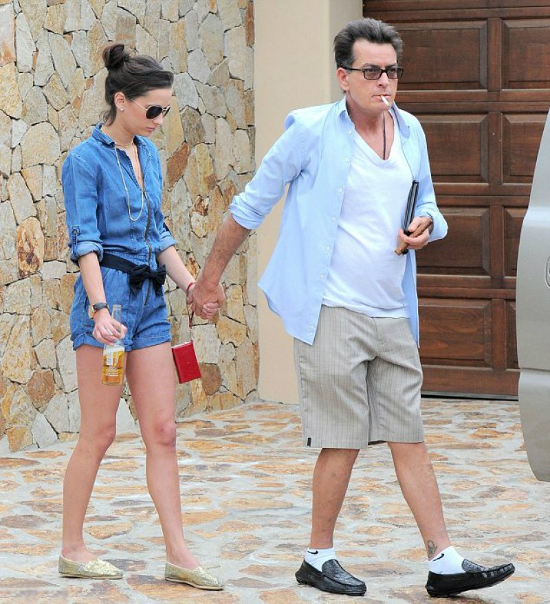 Charlie Sheen And Georgia Jones-Charlie Sheen And His 13 Well Known Girlfriends