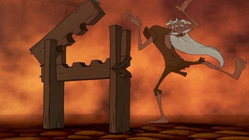 Jafar is Old Prisoner in Hunchback of Notre Dame-15 Disney Movie Secrets You Don't Know