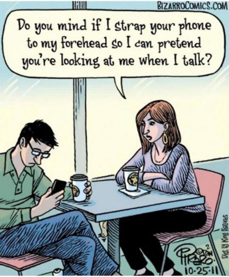 Smartphones Ruin Relationships too-15 Comics That Show How Smartphones Have Ruined Our Lives