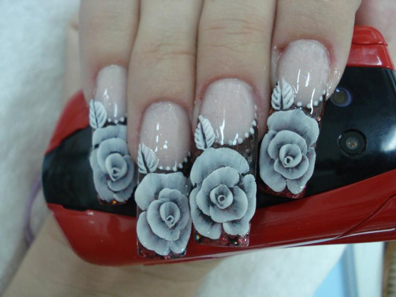 Bright And Shiny Nails-15 Amazing Nail Arts That You Must Try Once In Your Life