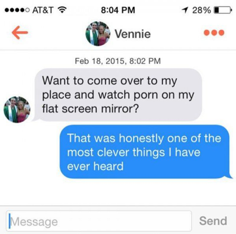 He Scored!-15 Funniest Pickup Lines To Use On Tinder