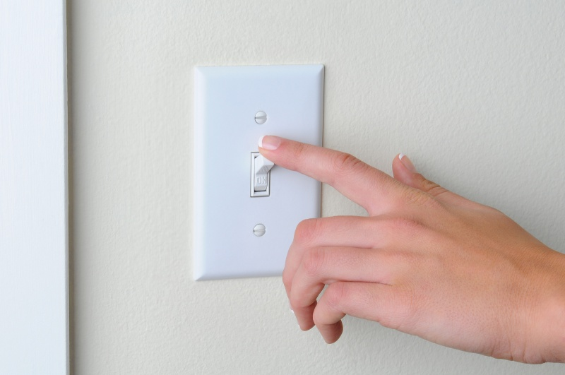 Light Switches-15 Things You Use Daily That Are Actually Dirtier Than Your Toilet Seat