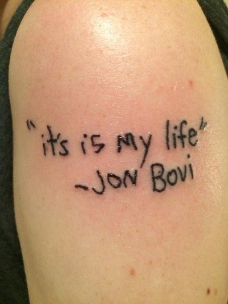 Don't Be in a Hurry-15 People Who Regretted Their Tattoos