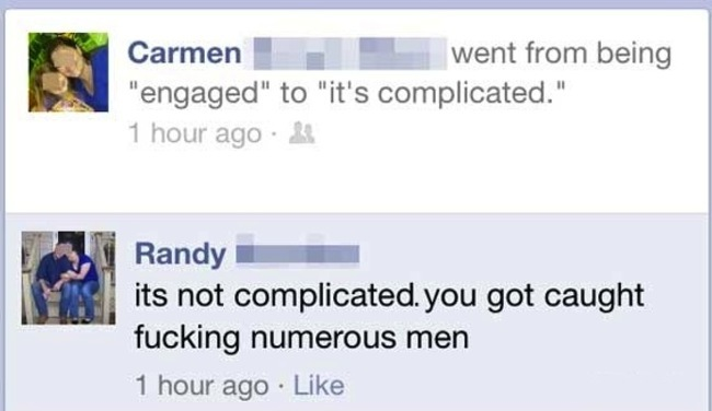 15 Times People Exposed Their Cheating Partners On Facebook