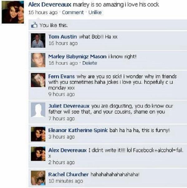 Facebook + Alcohol = Fail-15 Hilarious Facebook Drunk Posts