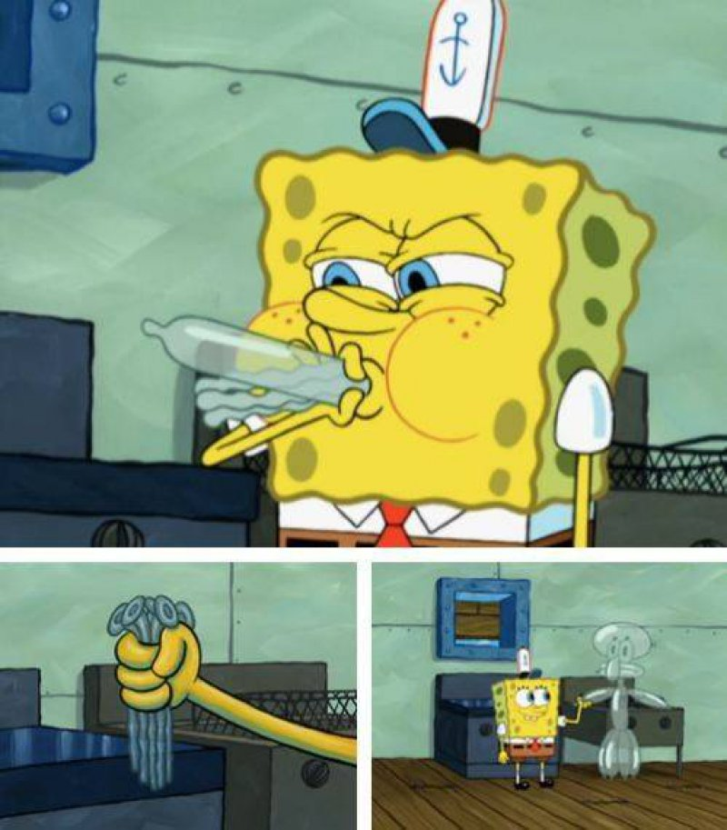 SpongeBob, What Are You Blowing?-15 Hidden Inappropriate Jokes In Children Cartoons