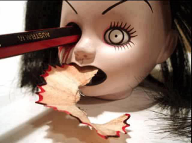 The Bride of Chucky-Creative Pencil Sharpeners