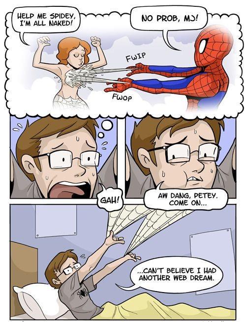 A different web dream-Most Awkward Dreams